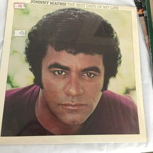 Vintage Johnny Mathis The Best Days of My Life vin